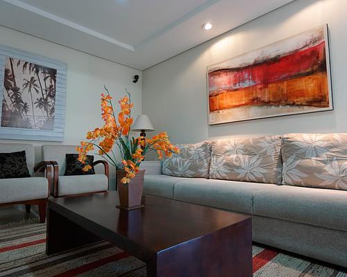 Мебель гостиной на испанском языке