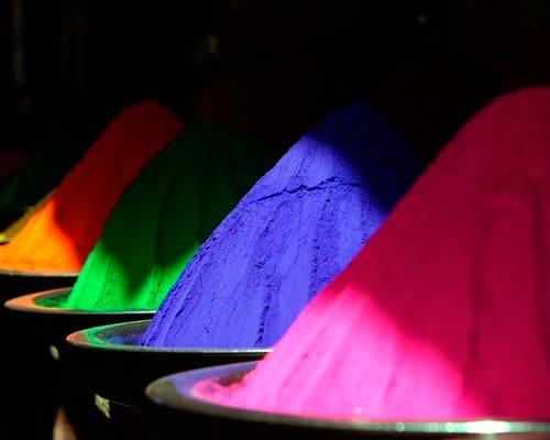 Цветовая гамма на испанском языке