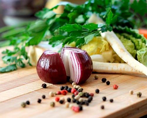 Овощи на испанском языке