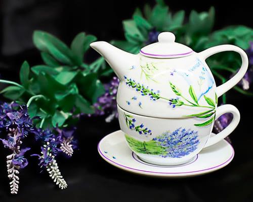 Заварка, чайник на испанском языке